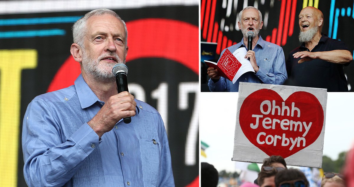 Jeremy Corbyn's powerful speech to thousands on Glastonbury's Pyramid Stage