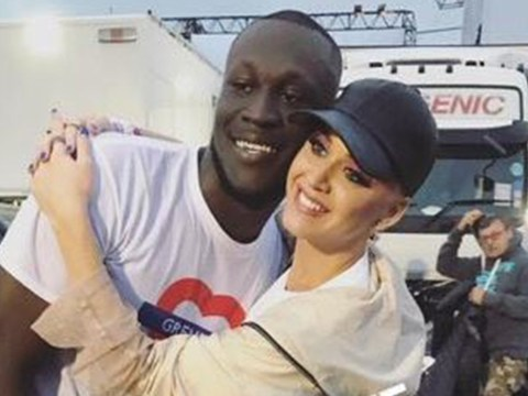 'New couple alert': Katy Perry witnessed Stormzy's Glastonbury set and now they're best buds