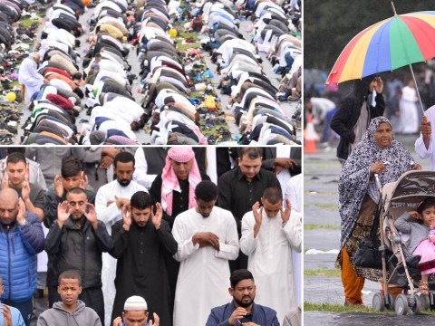 Incredible Eid pictures show 100,000 at Europe's largest celebration in Birmingham