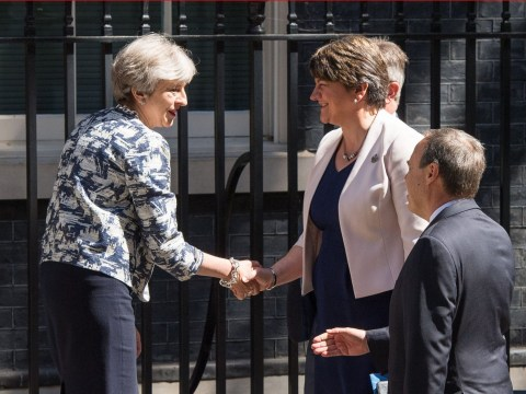 Theresa May reaches deal with DUP to prop up minority government