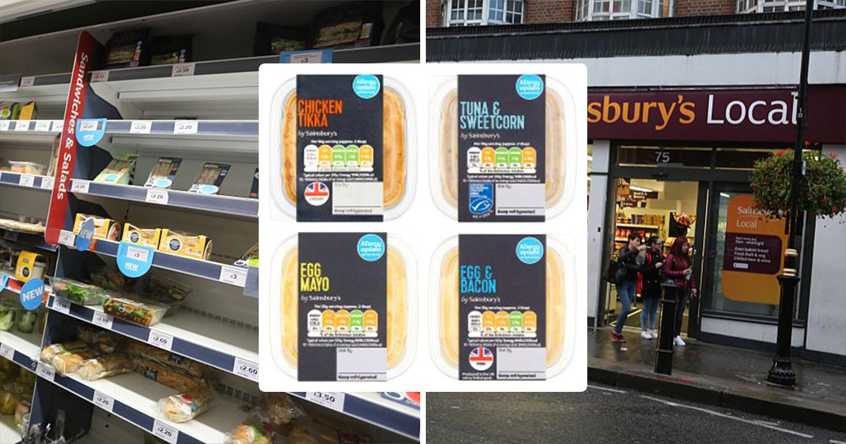 Sainsbury's launches urgent recall of sandwich fillers after potentially deadly food bug discovery