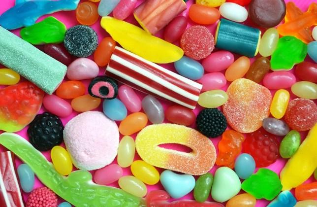 Sugar warnings on sweets