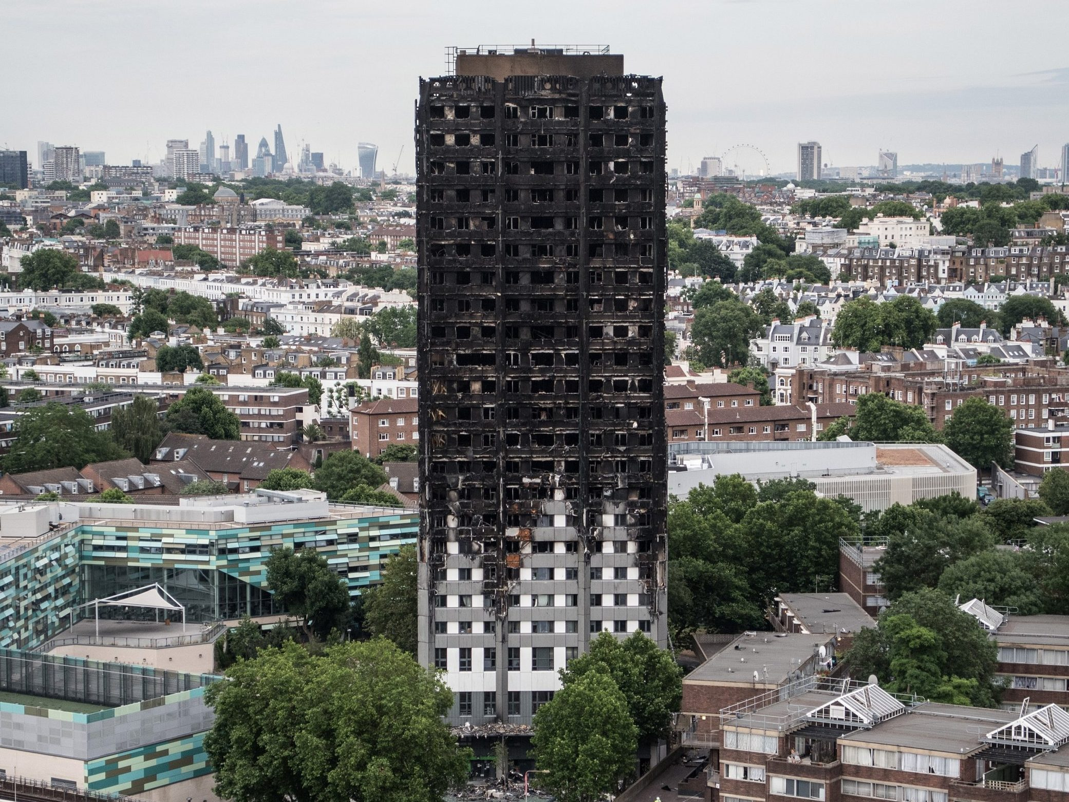 Man arrested after 'lying he lost family in Grenfell Tower to get money'