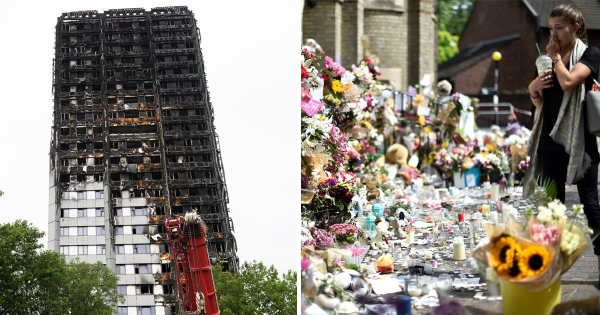 'Sick' photo of Grenfell Tower 'memorial candle' shared on Facebook
