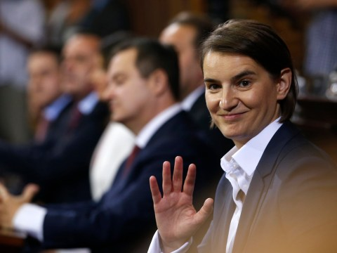 Serbia's new prime minister is the country's first female and openly gay leader