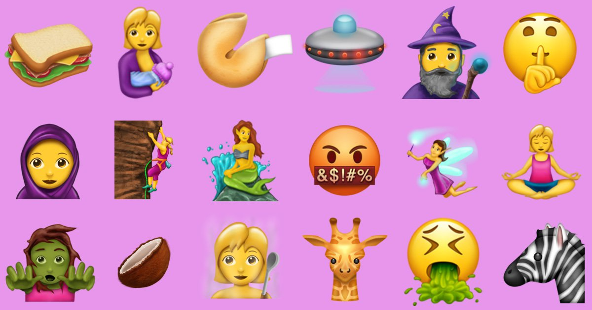 Hold the phone, 56 new emoji are coming