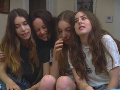 Ever wondered what a fourth Haim sister would be like? Brie Larson can show you