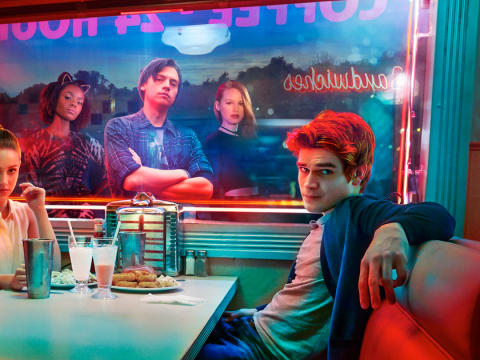 New Riverdale season 2 pictures see Archie going Scottish in bizarre dream sequence