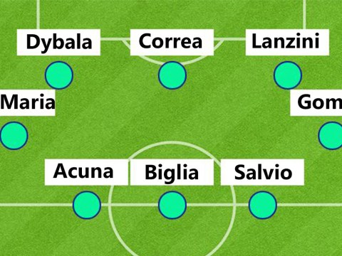 Argentina look set to play insanely attacking 2-3-4-1 formation against Singapore