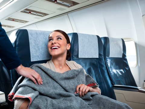 This is why it's so damn cold on an airplane