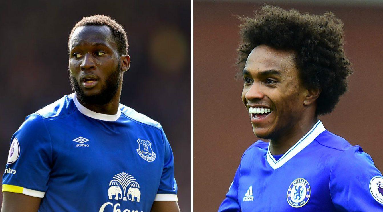 Chelsea fans believe they could 'do a Willian' and nick Romelu Lukaku transfer