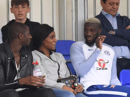 Tiemoue Bakayoko watches Chelsea's 8-2 friendly win over Fulham