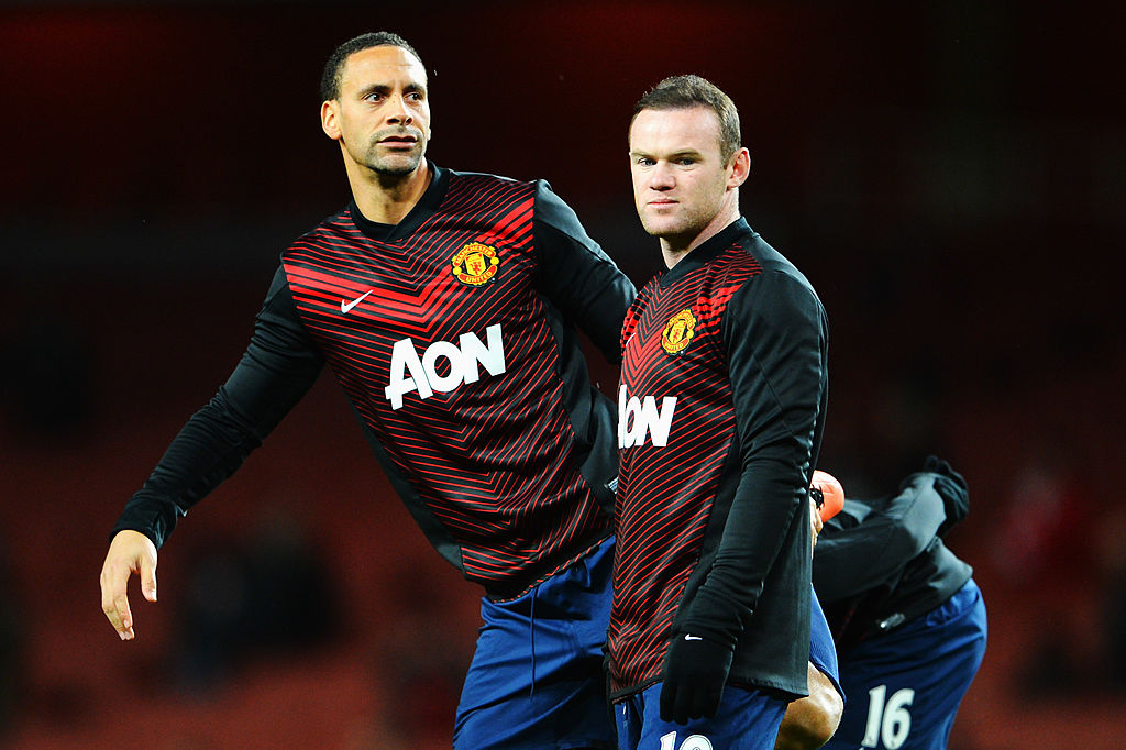 Rio Ferdinand challenges Wayne Rooney to beat Alan Shearer's goalscoring record