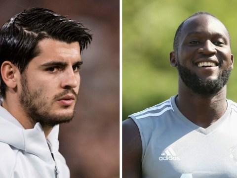 Manchester United's Romelu Lukaku has advantage over Chelsea signing Alvaro Morata, says Aitor Karanka