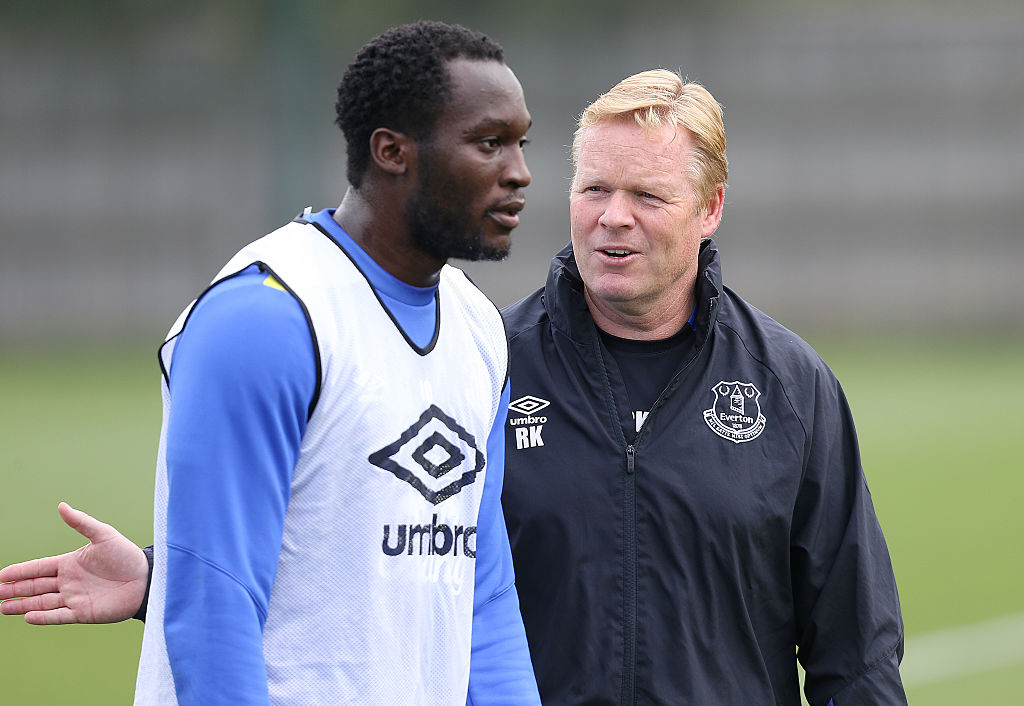 Ronald Koeman breaks silence after Manchester United agree Romelu Lukaku fee
