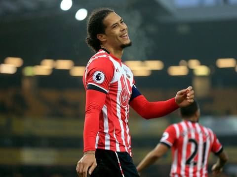Liverpool and Chelsea transfer target Virgil van Dijk training alone after saying he wants Southampton exit