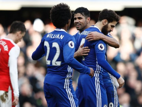Chelsea star Diego Costa's agent in transfer talks with AC Milan