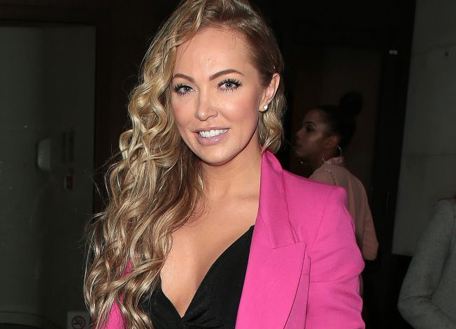 Aisleyne Horgan-Wallace might need 'three months' to recover from 'attack' as she reveals she hasn't told her family