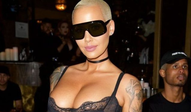 Amber Rose reveals extent of pain she was in before breast reduction surgery