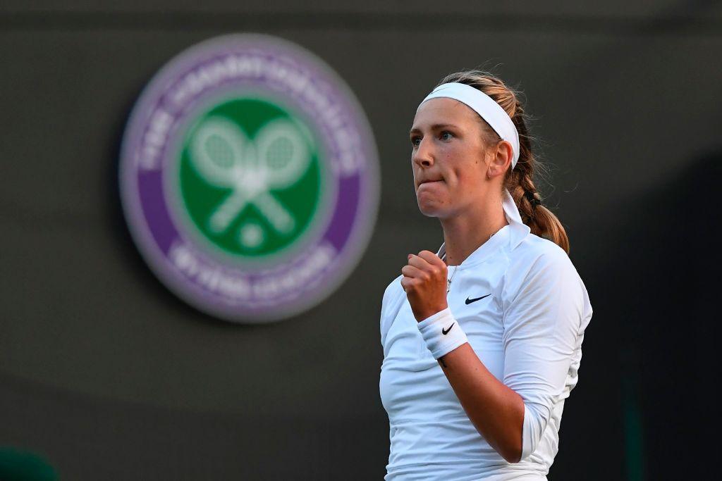 Heather Watson to face Victoria Azarenka in Wimbledon round three