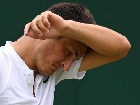Bernard Tomic dumped by racquet sponsor Head after 'bored' comments at Wimbledon