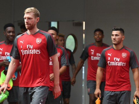 Arsenal training pictures as pre-season begins, with Sead Kolasinac joining Theo Walcott and Danny Welbeck