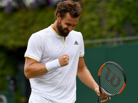 Novak Djokovic to face Ernests Gulbis next at Wimbledon as Juan Martin del Potro crashes out