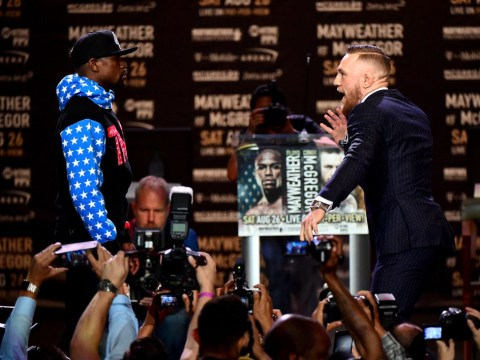 Relive the first Floyd Mayweather vs Conor McGregor press conference