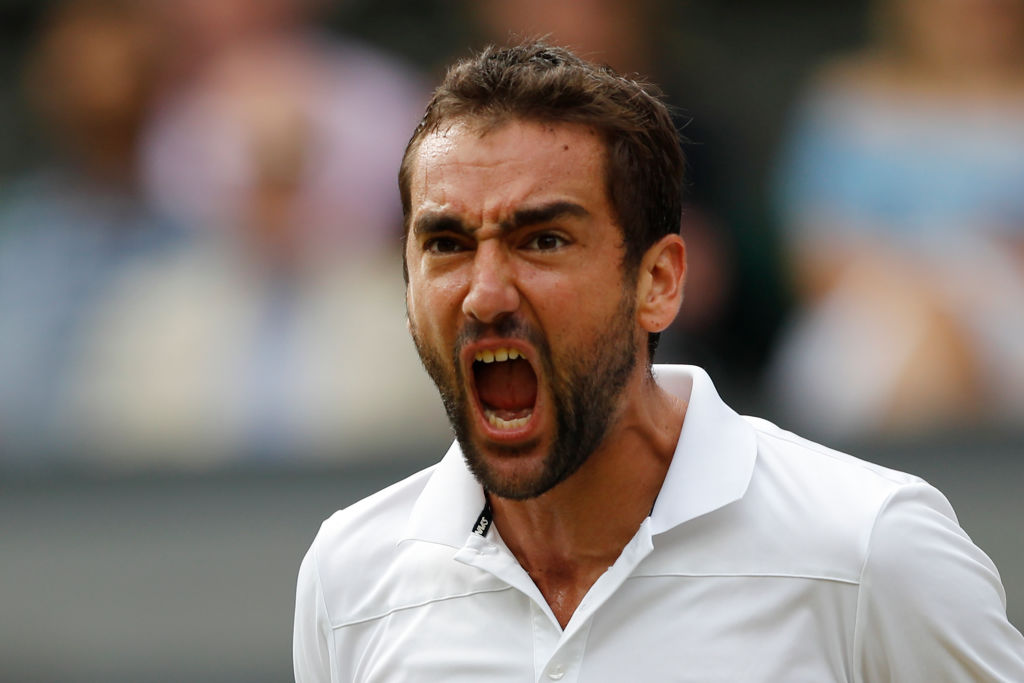 Marin Cilic makes history by downing Sam Querrey to reach Wimbledon final