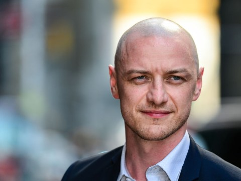James McAvoy has shaved off all his hair which can only mean one thing – it's X-Men time