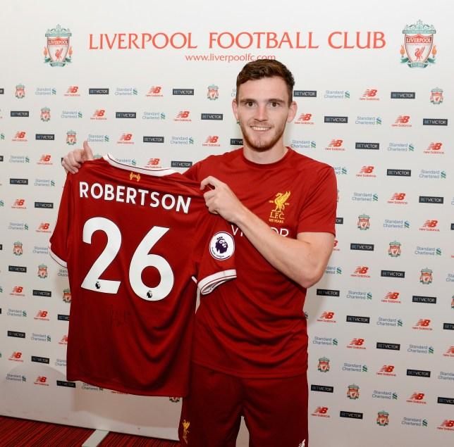eadfa49fd Liverpool news  Jurgen Klopp comments on Andrew Robertson transfer ...