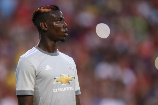 0b442bbdfb0 Paul Pogba and his teammates struggled to play free-flowing football in  their new kit (Getty). The defeat means United ...