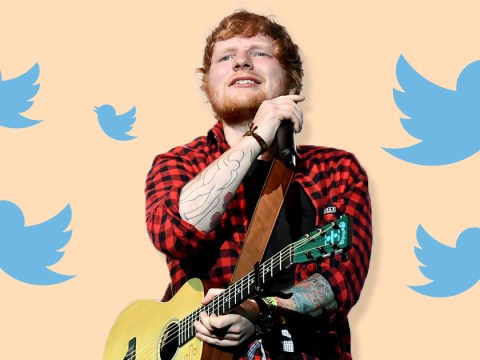 Ed Sheeran says no he hasn't quit Twitter (he's just not reading it anymore)