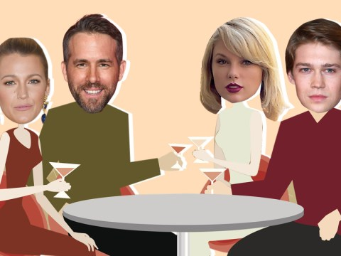 Ryan Reynolds and Blake Lively go on a double date with Taylor Swift and her new boyfriend