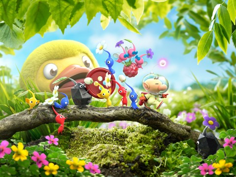 Hey! Pikmin review – portable gardening