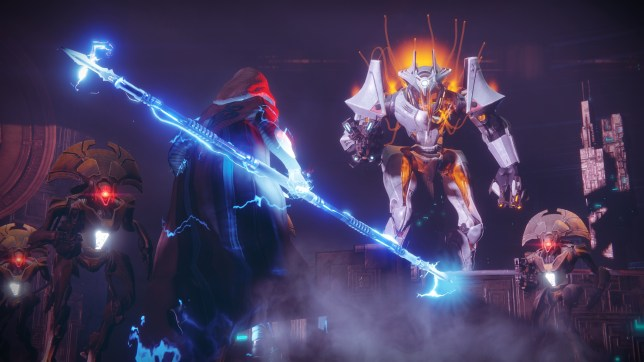 Destiny 2 - the strike's boss is not particularly inspired