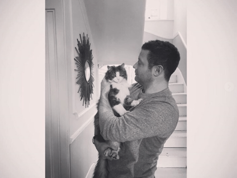 Dermot O'Leary pens moving tribute to his cat Silver following his death