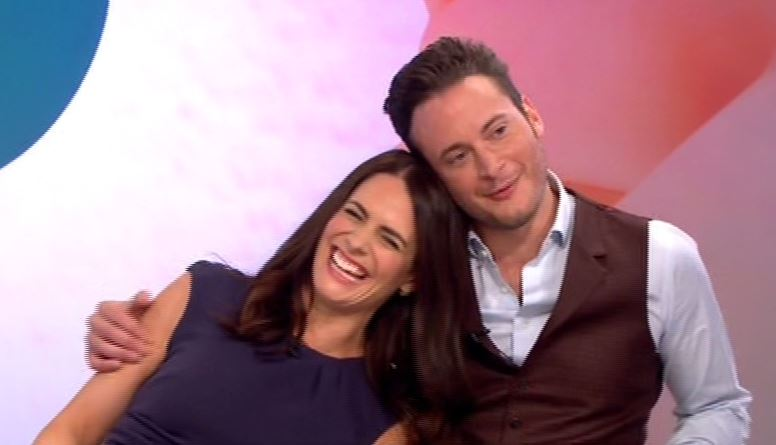 Footballers' Wives reunion! Gary Lucy surprised by former co-star Susie Amy as they talk plans for her to join Hollyoaks