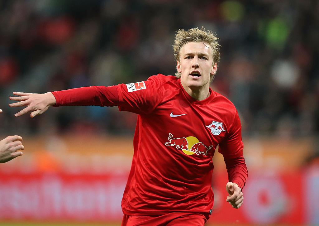 Emil Forsberg breaks silence after latest Manchester United transfer link