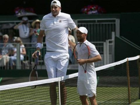 Dudi Sela proves size isn't everything at Wimbledon in thriller against John Isner