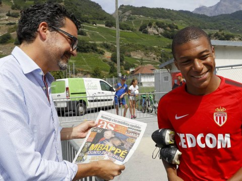 Arsenal and Real Madrid target Kylian Mbappe ambushed by Spanish reporter over transfer saga