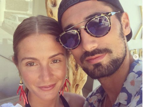 Millie Mackintosh and Hugo Taylor confirm they are engaged after romantic Mykonos holiday