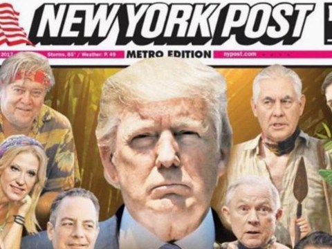 People aren't sure they're living in real life after New York Post front page