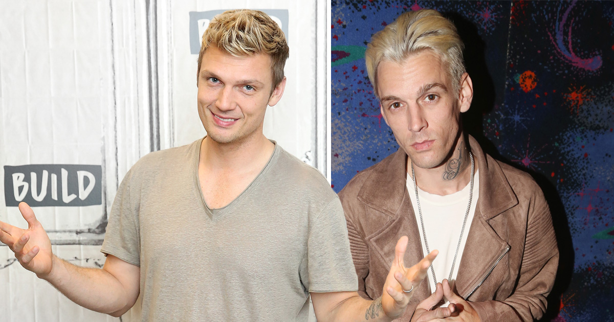 Nick Carter 'threatens brother Aaron with lawsuit if he tells lies' about their relationship