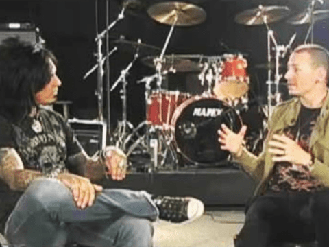 Mötley Crüe's Nikki Sixx says friend Chester Bennington 'just told me how happy he was'