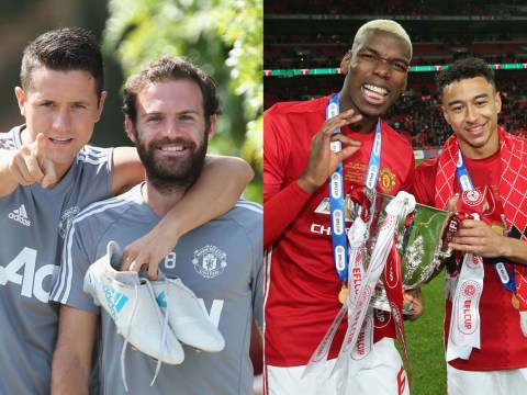 Juan Mata and Ander Herrera in cheeky dig at Manchester United team-mates Paul Pogba and Jesse Lingard