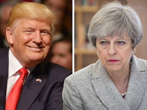 Theresa May wasn't aware of Donald Trump's surprise visit in the next few weeks