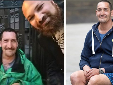 Homeless man loaned stranger his shoes so he could get into upmarket restaurant
