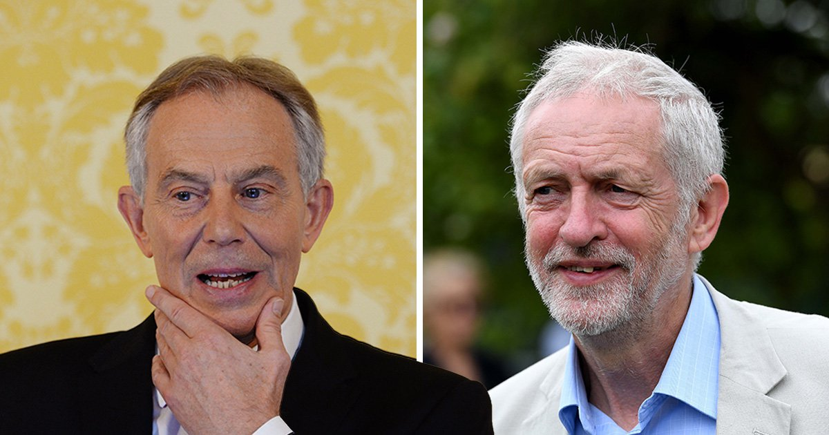 Tony Blair says he can finally see Jeremy Corbyn becoming prime minister