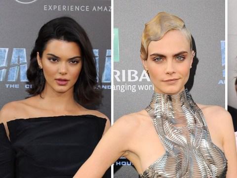 Kendall Jenner helps BFF Cara Delevingne celebrate Valerian premiere